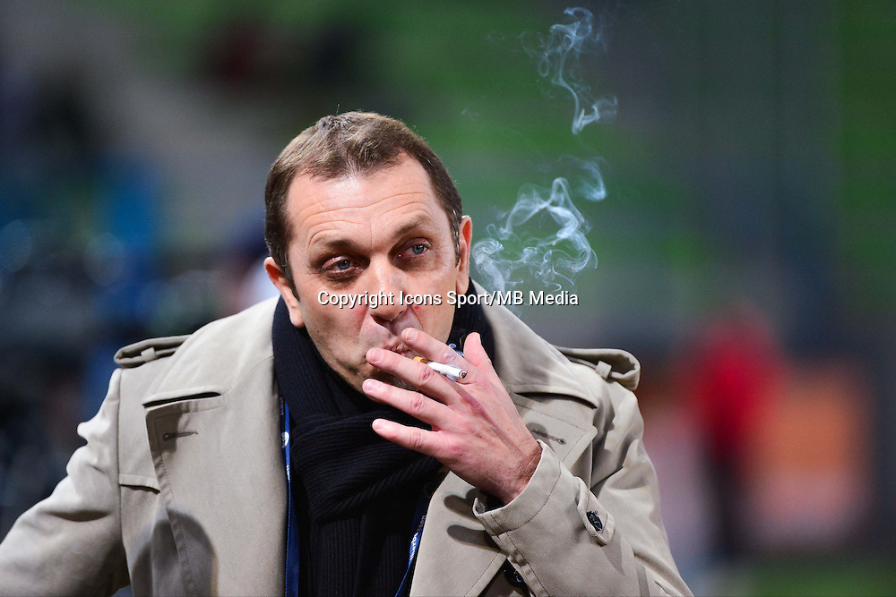 Xavier GRAVELAINE- 06.12.2014 - Caen / Nice - 17eme journee de Ligue 1 -<br />Photo : Dave Winter / Icon Sport
