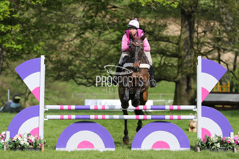 *** during the International Horse Trials at Chatsworth, Bakewell, United Kingdom on 12 May 2018. Picture by George Franks.