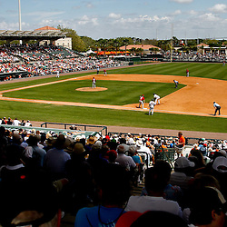 March 24, 2012; Sarasota, FL, USA; A general view during the bottom of the fourth inning of a spring training game against the Washington Nationals at Ed Smith Stadium.  Mandatory Credit: Derick E. Hingle-US PRESSWIRE