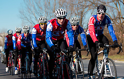 Adria Mobil Cycling Club at training camp on February 21, 2012 in Strunjan, Slovenia. Photo by Vid Ponikvar / Sportida.com.