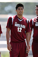 02 September 2012: Santa Clara's Keigo Kameya. The North Carolina State University Wolfpack defeated the Santa Clara University Broncos 2-1 at Koskinen Stadium in Durham, North Carolina in a 2012 NCAA Division I Men's Soccer game.