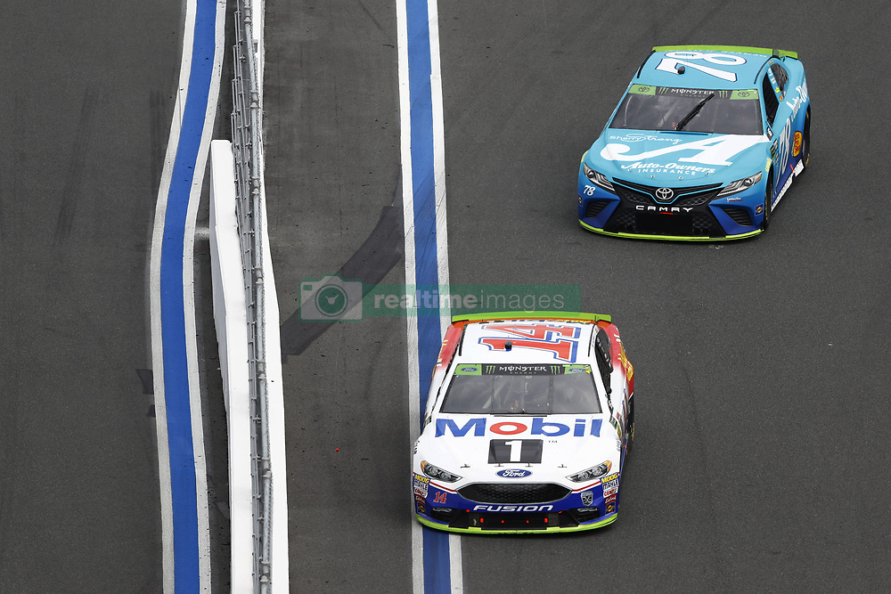 September 30, 2018 - Concord, North Carolina, United States of America - Martin Truex, Jr (78) races during the Bank of America ROVAL 400 at Charlotte Motor Speedway in Concord, North Carolina. (Credit Image: © Chris Owens Asp Inc/ASP via ZUMA Wire)