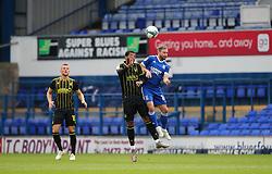 Josh Grant of Bristol Rovers challenges for a header - Mandatory by-line: Arron Gent/JMP - 05/09/2020 - FOOTBALL - Portman Road - Ipswich, England - Ipswich Town v Bristol Rovers - Carabao Cup