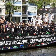 NLD/Amsterdam//20170805 - Gay Pride 2017, Boot Legally Gay