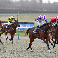 Secret Pursuit and Joe Doyle winning the 2.00 race