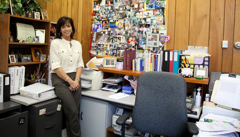 Lori Spencer, classified employee of the month