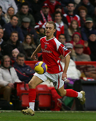 London, England - Saturday, January 13, 2007: Charlton Athletic's Dennis Rommedahl against Middlesbrough during the Premiership match at the Valley. (Pic by Chris Ratcliffe/Propaganda)