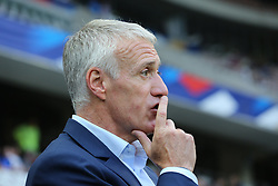 June 1, 2018 - Nice, France - Didier Deschamps, head coach of France National Team, before the friendly football match between France and Italy at Allianz Riviera stadium on June 01, 2018 in Nice, France. (Credit Image: © Massimiliano Ferraro/NurPhoto via ZUMA Press)