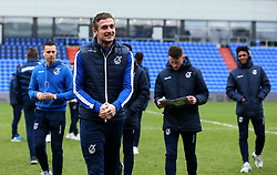 Adam Smith of Bristol Rovers arrives at The Sportsdirect.com Park for the fixture against Oldham Athletic - Mandatory by-line: Robbie Stephenson/JMP - 30/12/2017 - FOOTBALL - Sportsdirect.com Park - Oldham, England - Oldham Athletic v Bristol Rovers - Sky Bet League One