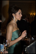 NATALIA BONDARENKO, The Old Russian New Year's Eve Gala. In aid of the Gift of Life foundation. Savoy Hotel, London. 13 January 2015.