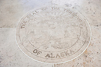 Seal of Alaska in Fort Bonifacio; Manila; Philippines