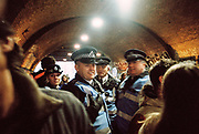 Police at Freedom to Party Protest, Shoreditch, London 2016