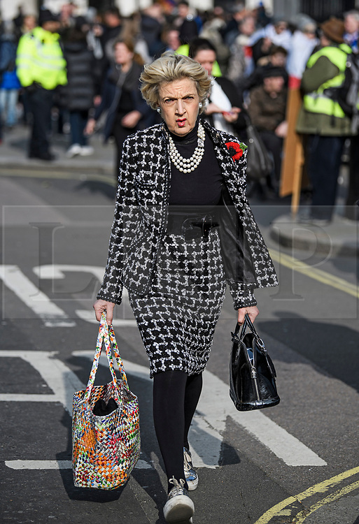 © Licensed to London News Pictures. 31/10/2019. London, UK. Fiona Shackleton, Baroness Shackleton of Belgravia is seen in Westminster, London on October 31st, 2019.  Photo credit: Ben Cawthra/LNP