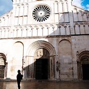 Eglise Sainte Anastasie sur la presqu'île de Zadar