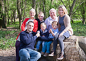 Family shoot at Easter