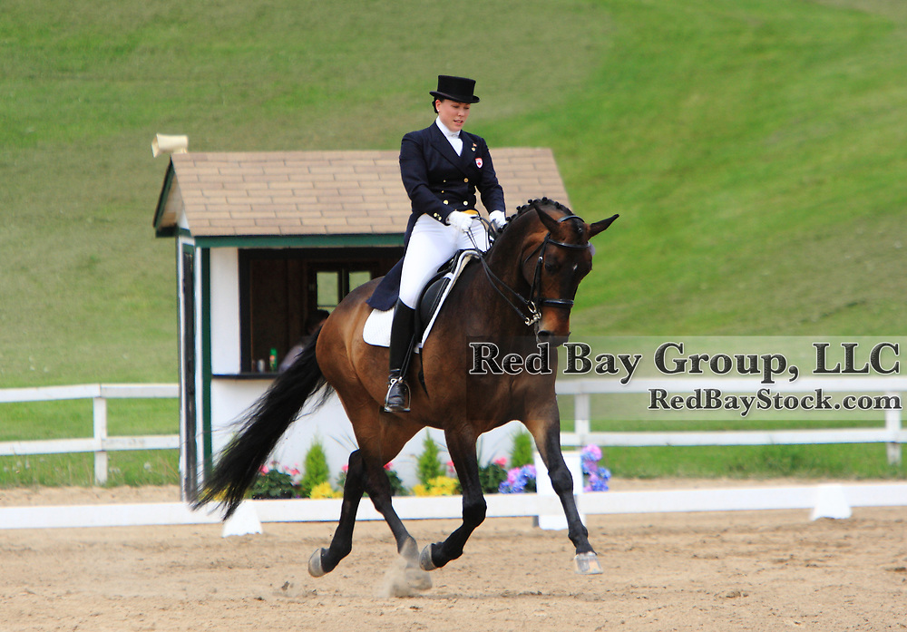 Whitney Harris and Klouseau at the 2010 Equivents Spring Classic in Milton, Ontario.