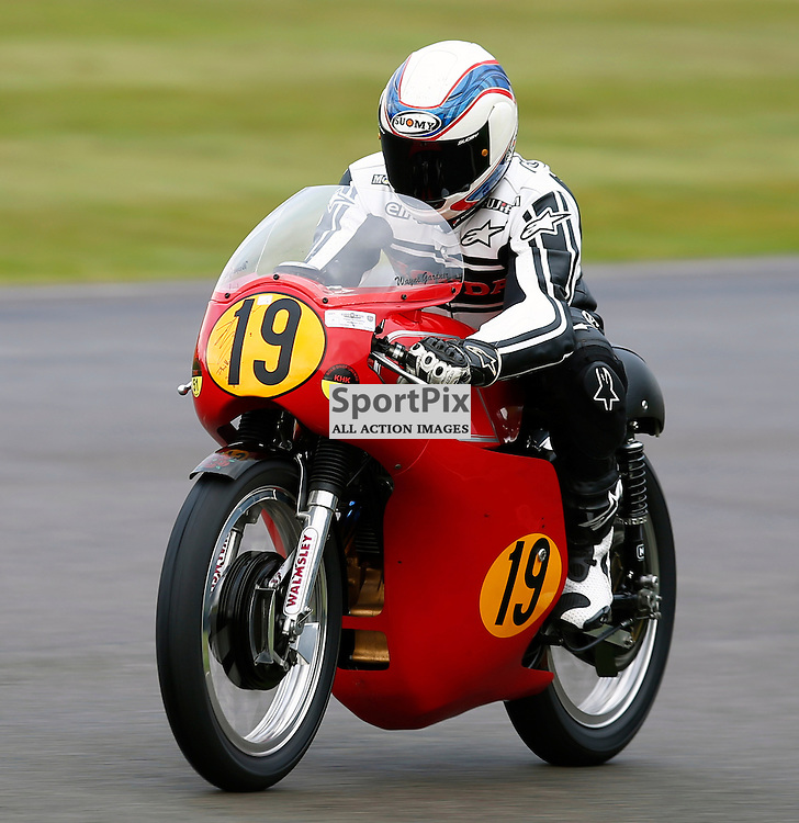 GOODWOOD REVIVAL....Wayne Gardner during qualifying for the weekend races...(c) STEPHEN LAWSON | SportPix.org.uk