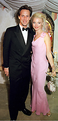 MR TODD TAYLOR and social figure MISS TAMARA <br /> BECKWITH, at a reception in London on 15th June 2000.OFH 22<br /> © Desmond O'Neill Features:- 020 8971 9600<br />    10 Victoria Mews, London.  SW18 3PY <br /> www.donfeatures.com   photos@donfeatures.com<br /> MINIMUM REPRODUCTION FEE AS AGREED.<br /> PHOTOGRAPH BY DOMINIC O'NEILL