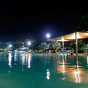 Cairns Esplanade is Cairns CBD. The esplanade lagoon, a saltwater swimming pool