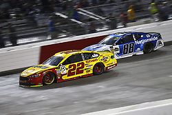 September 22, 2018 - Richmond, Virginia, United States of America - Joey Logano (22) battles for position during the Federated Auto Parts 400 at Richmond Raceway in Richmond, Virginia. (Credit Image: © Chris Owens Asp Inc/ASP via ZUMA Wire)