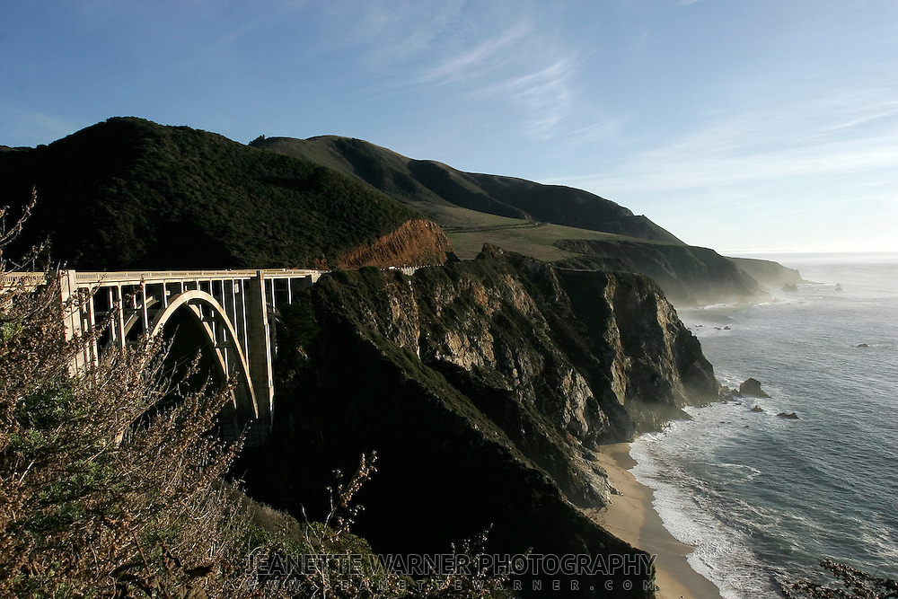 Bixby Bridge, Big Sur Coast, California.