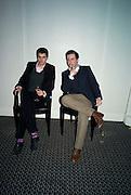 OLIVER MARRE AND BENJAMIN WEBB, Veuve Cliquot Business Woman Award. Berkeley Hotel 8 April 2008.  *** Local Caption *** -DO NOT ARCHIVE-© Copyright Photograph by Dafydd Jones. 248 Clapham Rd. London SW9 0PZ. Tel 0207 820 0771. www.dafjones.com.