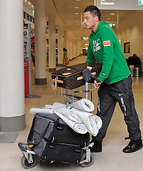 11.01.2010, Flughafen, Bremen, GER, Ankunft Werder Bremen Trainingslager Belek Türkei / Tuerkei 2011, im Bild Marko Arnautovic (Bremen #7)   EXPA Pictures © 2011, PhotoCredit: EXPA/ nph/  Frisch       ****** out of GER / SWE / CRO ******