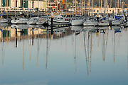 France, Normandy, Yacht Harbour