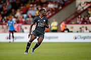Kelechi Iheanacho of Leicester City during the Pre-Season Friendly match between Scunthorpe United and Leicester City at Glanford Park, Scunthorpe, England on 16 July 2019.