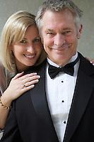 Middle-aged couple, portrait