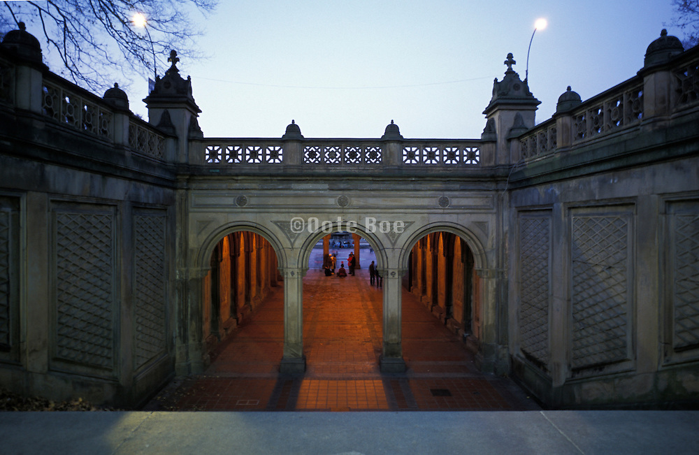Underpass at Central Park