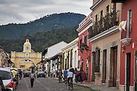 On the streets of Antigua, Guatemala.