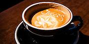 Maraetai Beach, cup of coffee.
