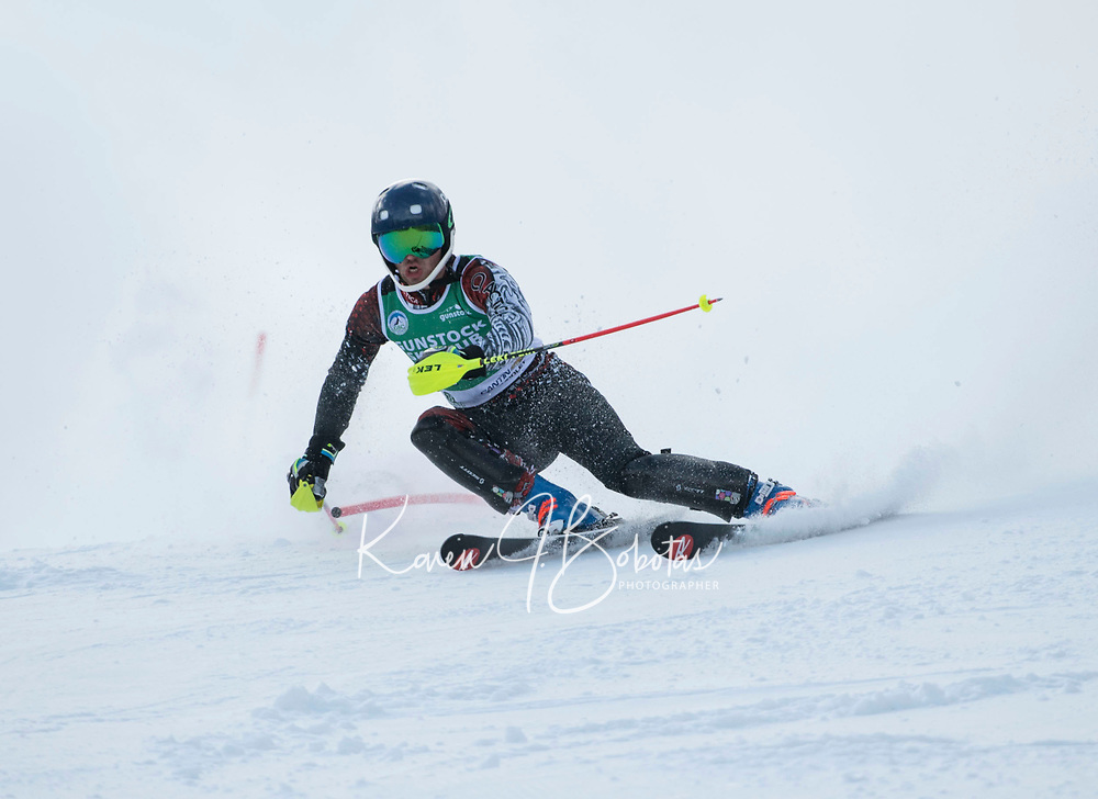 Macomber Cup Slalom at Gunstock Ski Club.    ©2020 Karen Bobotas Photographer