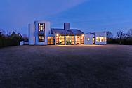 Modern Home, designed by Charles Gwathmey, Sagaponack, New York