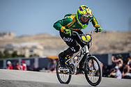 12 Boys #5 (JOHNSON Brent) RSA at the 2018 UCI BMX World Championships in Baku, Azerbaijan.
