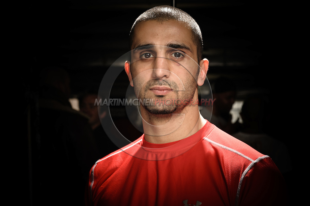 A portrait of mixed martial arts coach and trainer Firas Zahabi