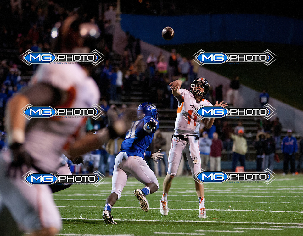 Hoover's Jack Hutcheson passes against Florence