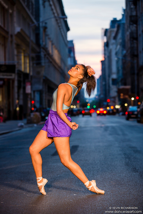 Streets of New York City Dance As Art Photography with dancer Angelica Viana