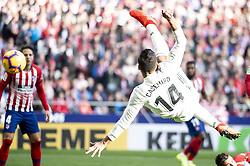 February 9, 2019 - Madrid, Spain - Carlos Henrique Casemiro of Real Madrid during La Liga match between Atletico de Madrid and Real Madrid at Wanda Metropolitano in Madrid Spain. February 09, 2018. (Credit Image: © Peter Sabok/NurPhoto via ZUMA Press)