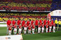 Athletic de Bilbao´s players before 2014-15 Copa del Rey final match between Barcelona and Athletic de Bilbao at Camp Nou stadium in Barcelona, Spain. May 30, 2015. (ALTERPHOTOS/Victor Blanco)