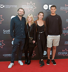 Edinburgh International Film Festival, Wednesday, 27th June 2018<br /> <br /> OBEY (UK PREMIERE)<br /> <br /> Pictured:  Director Jamie Jones, Sophie Kennedy Clark, producer Emily Jones and Marcus Rutherford <br /> <br /> (c) Alex Todd | Edinburgh Elite media
