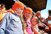 Face paint - Dundee United open day at Tannadice<br /> <br />  - Pictures © David Young