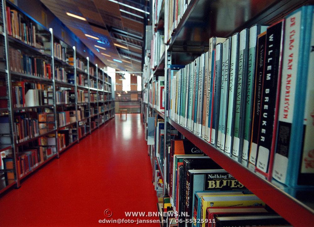 Nieuwe bibliotheek Graaf Wichman Huizen int.