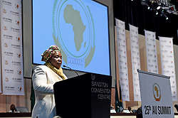 The African Union Twenty Seventh (27th) Ordinary Session of the Executive Council held in Sandton, Johannesburg, South Africa...African Union Commission Chairperson Dr Nkosazana Dlamini-Zuma officially opened the session..?Picture byline:  Jacoline Schoonees. (Credit Image: © Zhai Jianlan/Xinhua/ZUMA Wire)