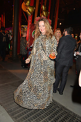 ALICE TEMPERLEY at 'The World's First Fabulous Fund Fair' in aid of the Naked Heart Foundation hosted by Natalia Vodianova and Karlie Kloss at The Roundhouse, Chalk Farm Road, London on 24th February 2015.