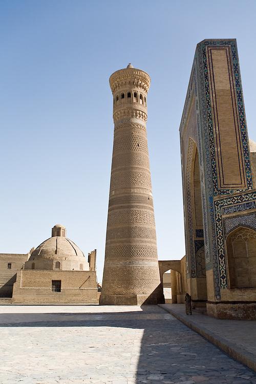 Kalon Medrassa and Minaret, Bukhara