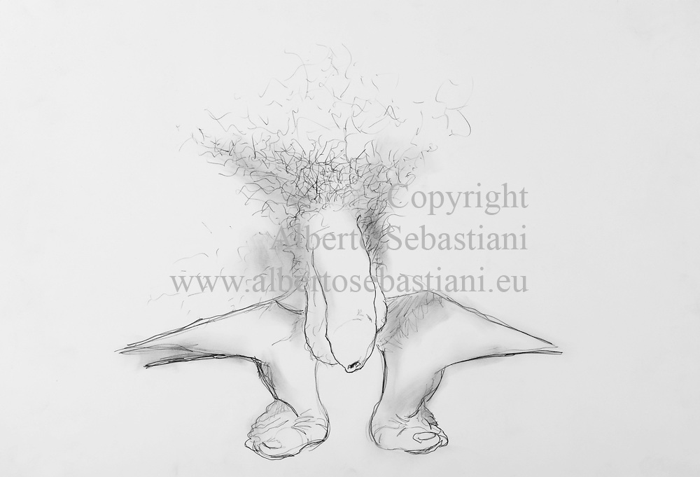 hand drawn erotic picture. this drawing was created as a hand made work following exclusively my own fantasy and personal inspiration; it is an original composition of which I'm the sole author
