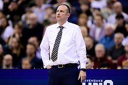 Worcester Wolves head coach Matt Newby - Photo mandatory by-line: Ryan Hiscott/JMP - 26/01/2020 - BASKETBALL - Arena Birmingham - Birmingham, England - Bristol Flyers v Worcester Wolves - British Basketball League Cup Final