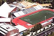 Aerial view of Villanova University sports stadium